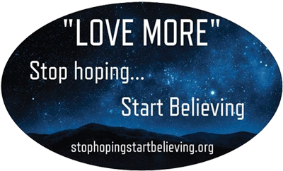 Stop Hoping Start Believing
